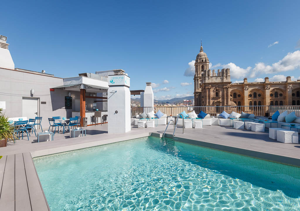 Boutique hotel 4 stars in center of malaga for Hotels malaga