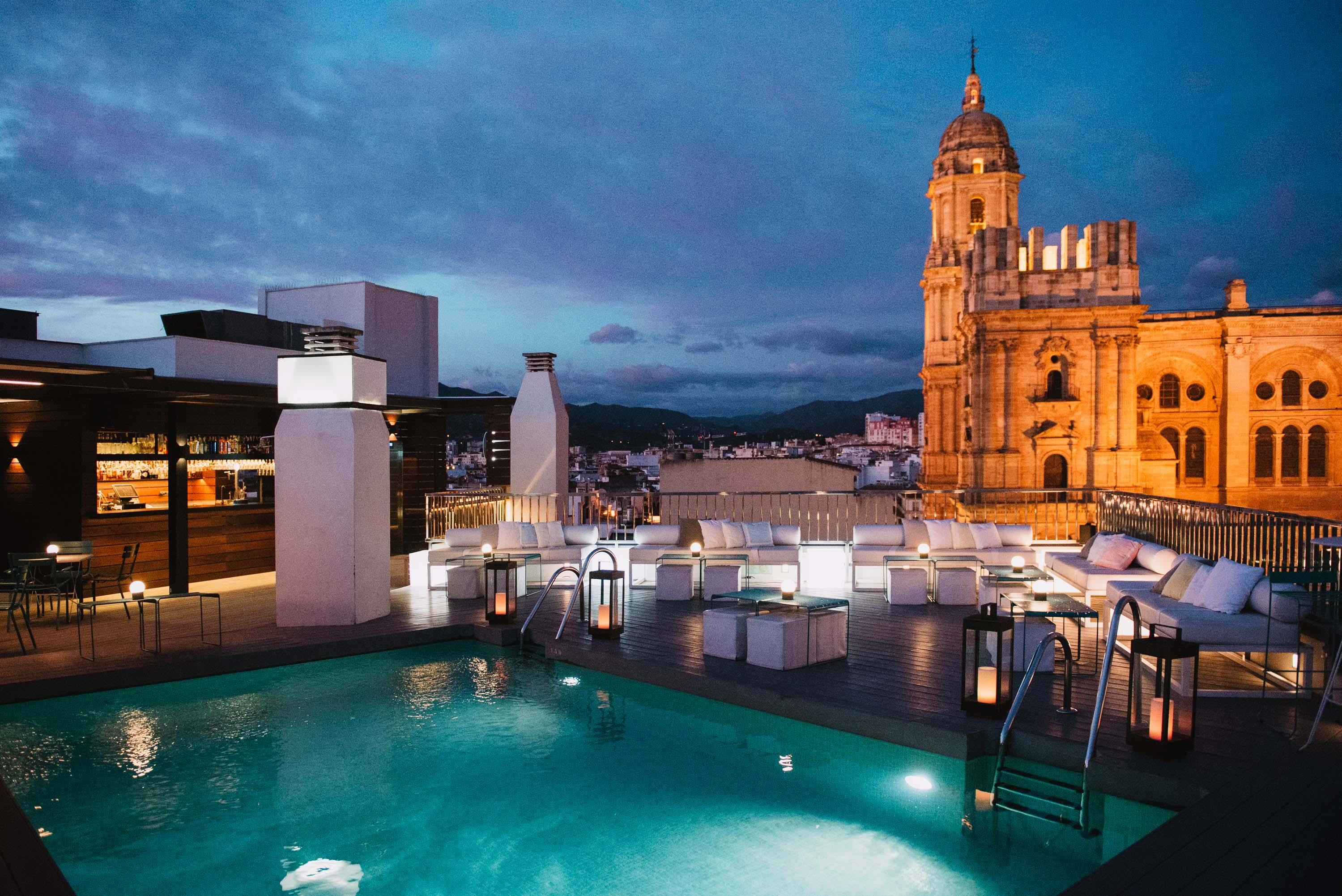 Gallery The Top Molina Lario Hotel Malaga